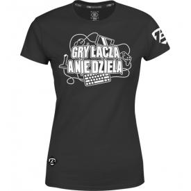 """T-shirt Damski """"Gry Łączą A Nie dzielą"""""""