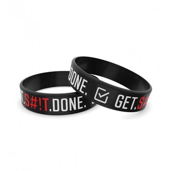 Wristband opaska sportowa 002 - GET S!!T DONE