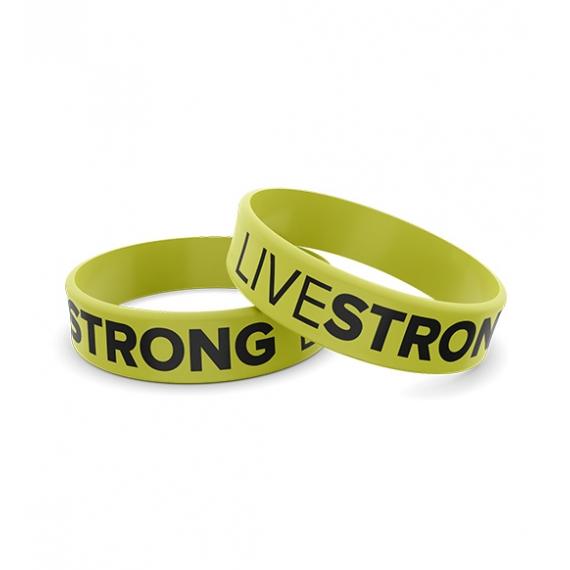 Wristband opaska sportowa 008 - LIVESTRONG