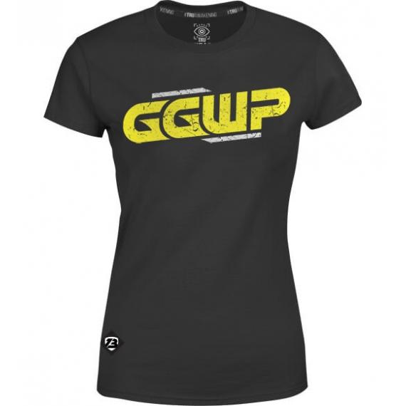 "T-shirt Damski ""GGWP Classic"" Czarny"