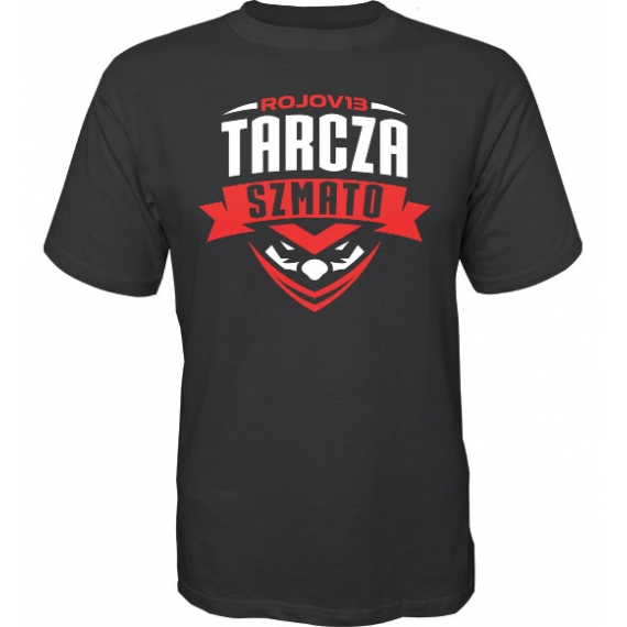 T-Shirt Tarcza Szmato Czarny