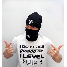"T-Shirt ""I don't age I level up"""