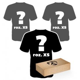 3 losowe t-shirty roz. XS
