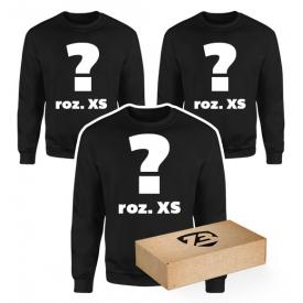 3 losowe bluzy roz. XS