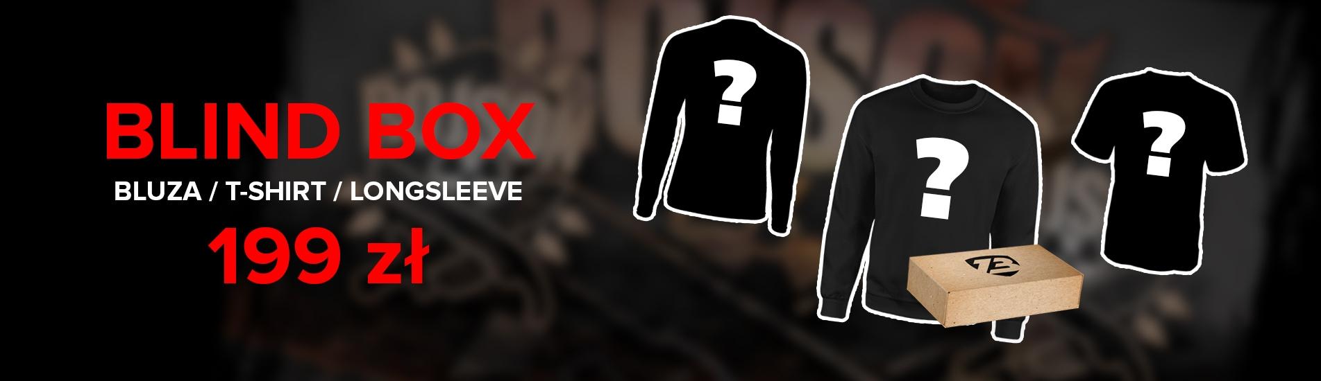 Losowa bluza + t-shirt + longsleeve